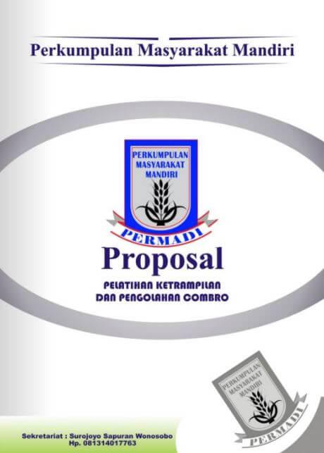 contoh cover proposal kegiatan