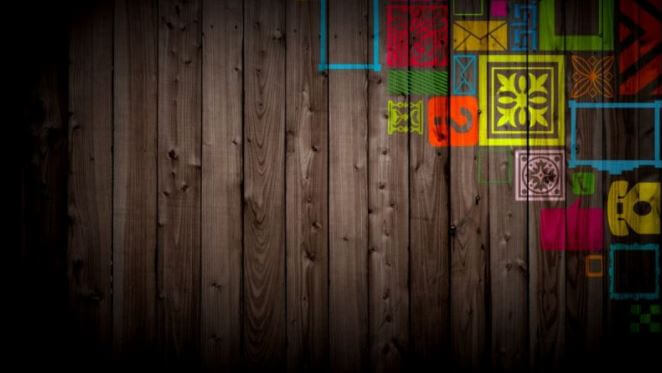 background kayu 3d