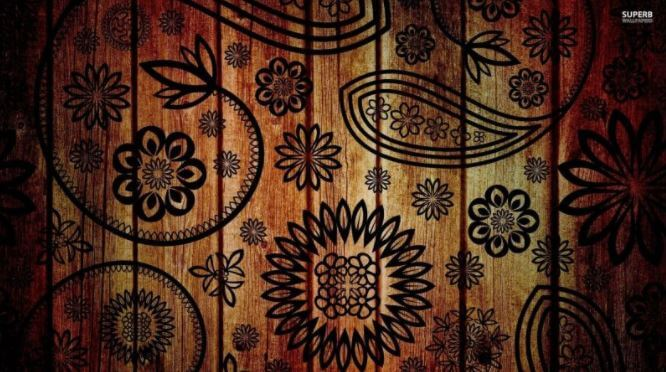 background keren kayu
