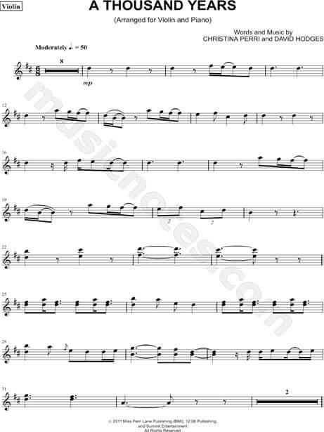 note angka lagu barat