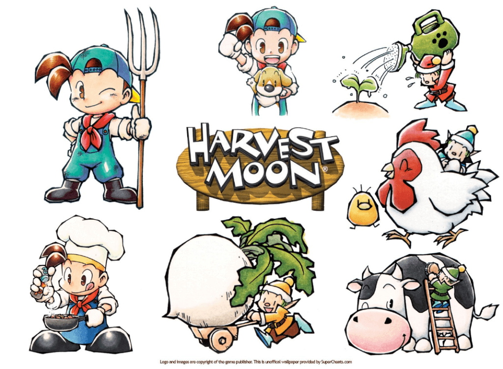 cara memasak di harvest moon back to nature