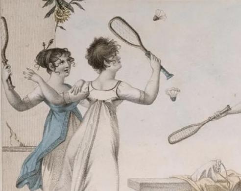 sejarah badminton Jeu de Volant