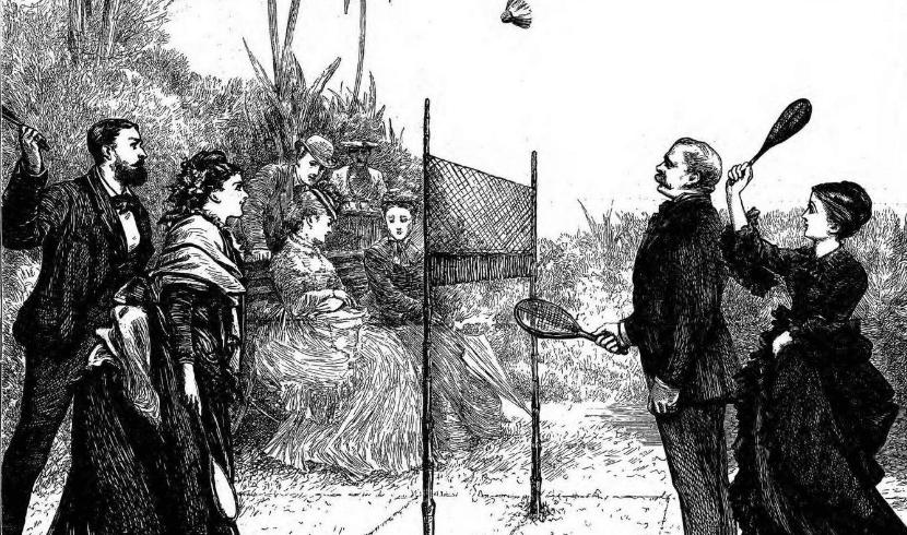 sejarah poona badminton