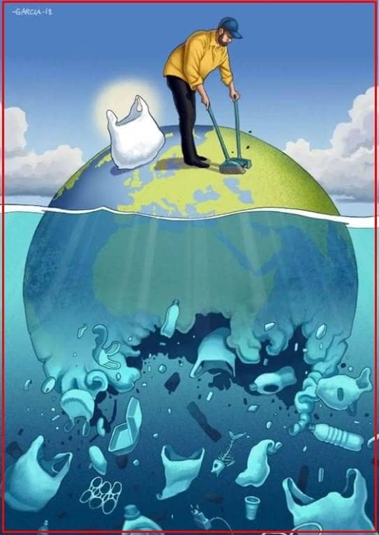 contoh gambar poster lingkungan hidup