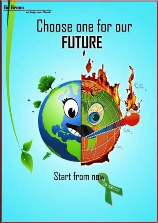 contoh poster lingkungan hidup