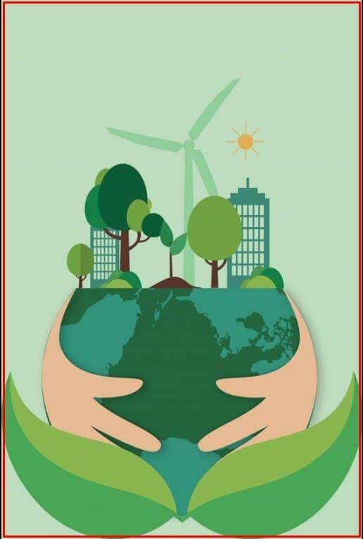 gambar poster lingkungan alam