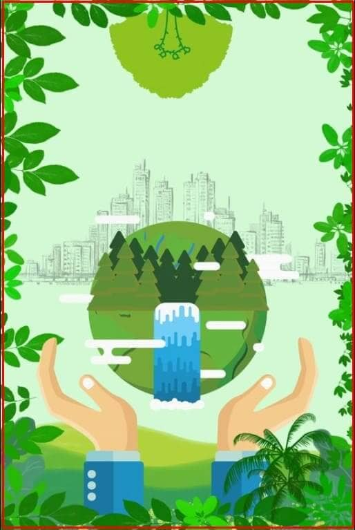 kalimat poster lingkungan hidup