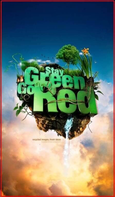 poster lingkungan hidup sehat