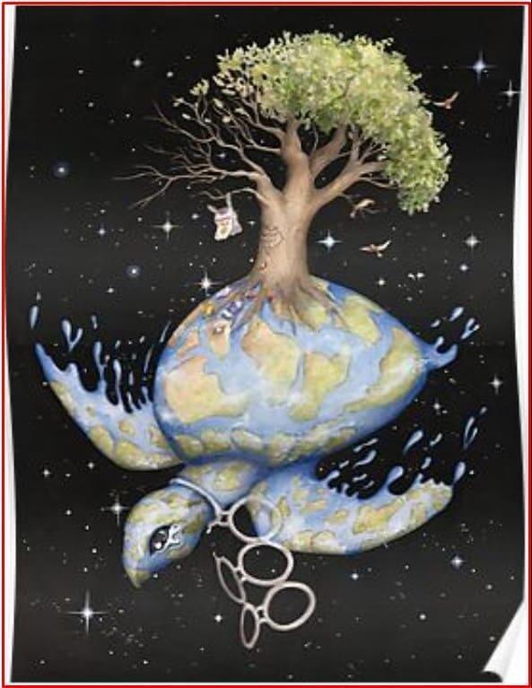poster lingkungan hidup yang mudah digambar